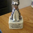 Crazy Mountain Designs Cats The Ultimate Authority Candleholder  #301653