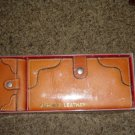 Caramel Colored Sanford Leather Billfold and Key Holder  #302081