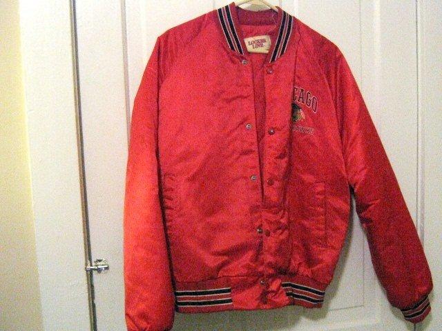 Vintage Locker Line Chicago Blackhawks Jacket Size Medium #302097