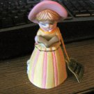 Vintage 1978 Little Girl Jasco Merri-Bells Porcelain Bell Figurine #302148