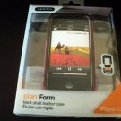 Griffin Pink Leather Easy Dock Case Cover for iPhone 3G 3Gs Screen Protector #302239