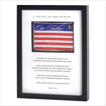 SOLDIER�S PRAYER SHADOWBOX
