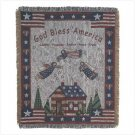 PATRIOTIC TAPESTRY THROW
