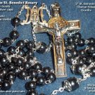 Hematite St. Benedict Rosary