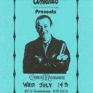 CHARLIE MUSSELWHITE Texas Blues Harp HANDBILL Poster'93