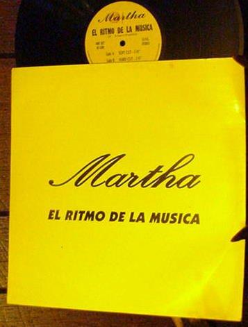 """MARTHA RARE '94 ITALO 12"""" PS EL RITMO DE LA MUSICA"""