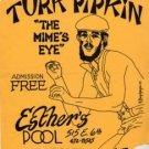 TURK PIPKIN '77 Mime Poster Handbill Sopranos ASD
