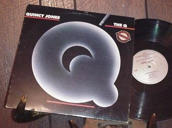 QUINCY JONES THE Q HTF OUT OF PRINT '76 ALLEGIANCE LP