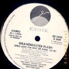 "GRANDMASTER FLASH Girls Love Way He Spins 12"" ASD"