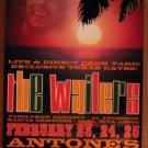 WAILERS Texas Antone's Concert POSTER Bob Marley reggae