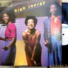 HIGH INERGY '81 S/T LP Motown WL Promo Disco Boogie