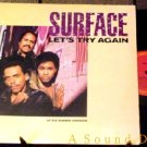 "SURFACE ORIG '86 PS 12"" LET'S TRY AGAIN DJ MODERN SOUL"