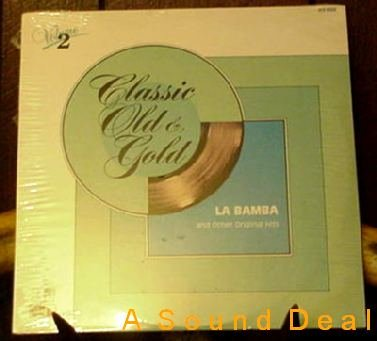 CLASSIC OLD GOLD SS DOO WOP LP DION CHIFFONS ORIENTS ++