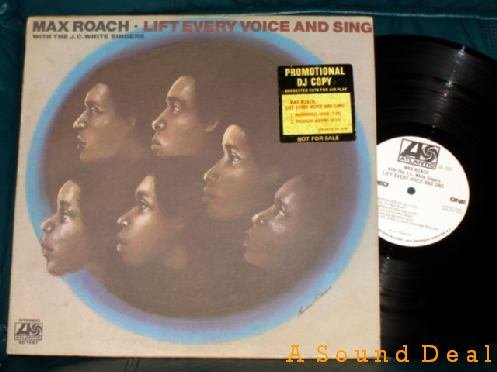 MAX ROACH Lift Every Voice and Sing LP '71 WLP