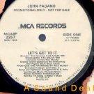 """JOHN PAGANO HTF '92 WL PRO 12"""" LET'S GET TO IT"""