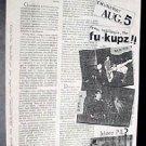 FU-KUPZ STAINS DICKS Texas'82 PUNK Poster KBD ASD