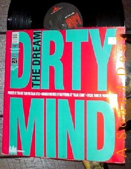 "DIRTY MIND HTF'90 ITALIAN STYLE PS 12"" THE DREAM TECHNO"