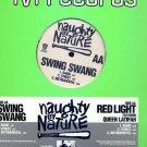 """NAUGHTY BY NATURE OG'02 12"""" SWING SWANG RED LIGHT"""