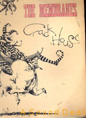 MEMBRANES Crack House SEALED'83 UK Punk LP Out of Print