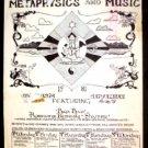 TEXAS METAPHYSICS'81 Poster RAJA RAO Big Boys ASD