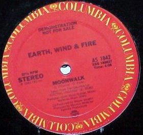 """EARTH WIND & FIRE '83 MODERN MOONWALK DJ PROMO 12"""""""