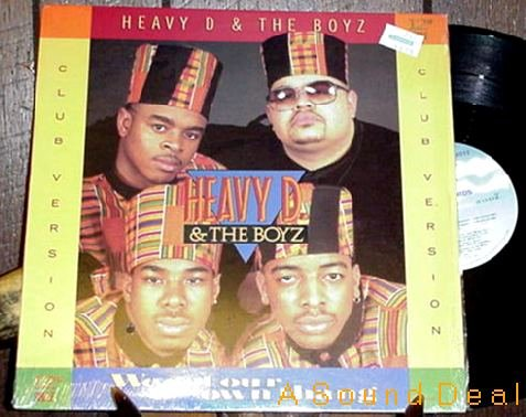 """HEAVY D. & THE BOYZ OG '89 PS 12"""" WE GOT OUR OWN THANG"""