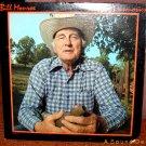 BILL MONROE Bluegrass Memories LP Out of Print Original