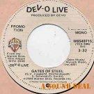 """DEVO HTF GATES OF STEEL'80 7"""" 45 DJ ONLY MONO MINT! 8"""