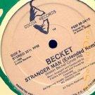 "BECKET RARE '86 AFRO COCOA 12"" STRANGER MAN EXT REMIX"