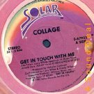 """COLLAGE OG '83 SOLAR 12"""" GET IN TOUCH WITH ME MODERN"""
