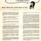 SUBGENIUS Vintage Missionary Leaflet DEVO flyer