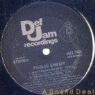 "PUBLIC ENEMY OG '88 DEF JAM 12"" DON'T BELIEVE THE HYPE!"