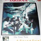 BADLEES '96 River Songs PROMO POSTER Roots Rock Folk