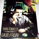 GAVIN FRIDAY SHAG TOBACCO '96 GLAM POSTER VIRGIN PRUNES