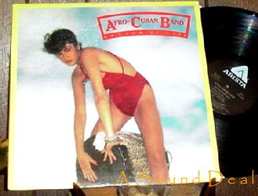 AFRO CUBAN BAND '78 DISCO CHEESECAKE LP RHYTHM OF LIFE