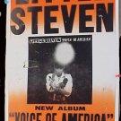 LITTLE STEVEN Boxing Style'84 POSTER Bruce Springsteen