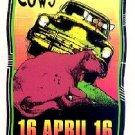 PRIMUS COWS Arminski Silkscreen '96 Gig HANDBILL Poster