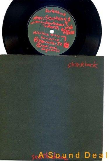 "SHRIEKBACK Sexthinkone Handclap '82 UK 7"" 45 ASD"