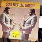 LEO WRIGHT Soul Talk '70 Vortex WLP Sax LP HEAR