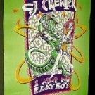 CJ CHENIER OG PRO'93 ZYDECO PLAYBOY POSTER AUTOGRAPHED!
