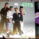 "THE BOYS HTF '90 CRAZY REMIX PICTURE SLEEVE 12"" MOTOWN"