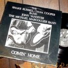 SHAKE RUSSELL DANA COOPER COMIN' HOME SIGNED LP TEXAS