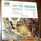 UNCLE JON SEALED '60s LP FUN FOR CHILDREN ZOO AIRPLANE