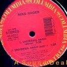 """NINA HAGEN Universal Radio US DJ 12"""" ASD"""
