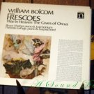 WILLIAM BOLCOM Frescoes LP Near Mint ASD