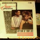 "JAYNE EDWARDS NIGHTWAVE '87 PS 12"" RHYTHM OF YOUR LIES"