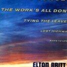 ELTON BRITT BEYOND THE SUNSET ORIG '60 LP SHRINK YODEL