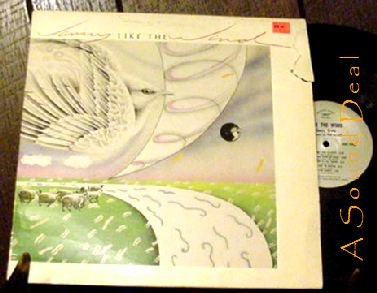 JANNY GREIN LIKE THE WIND RARE '83 MIGHTY HORN LP
