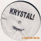 "KRYSTAL HARRIS RHYMIN' CRY NEVER DJ PROMO 12"" MINT! CCM"