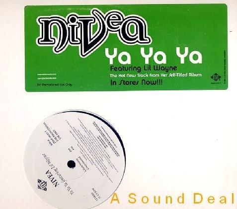 """NIVEA ft LIL WAYNE HTF DJ PROMO '02 REMIX 12"""" YA YA YA"""